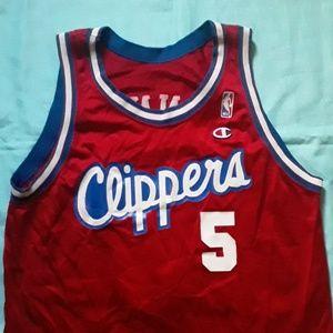 Vintage 1992 LA Clippers Manning Jersey